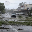 Cyclone Yasi main street of Ingham Thursday 3 February 2011. Picture by Crag Abraham The Age