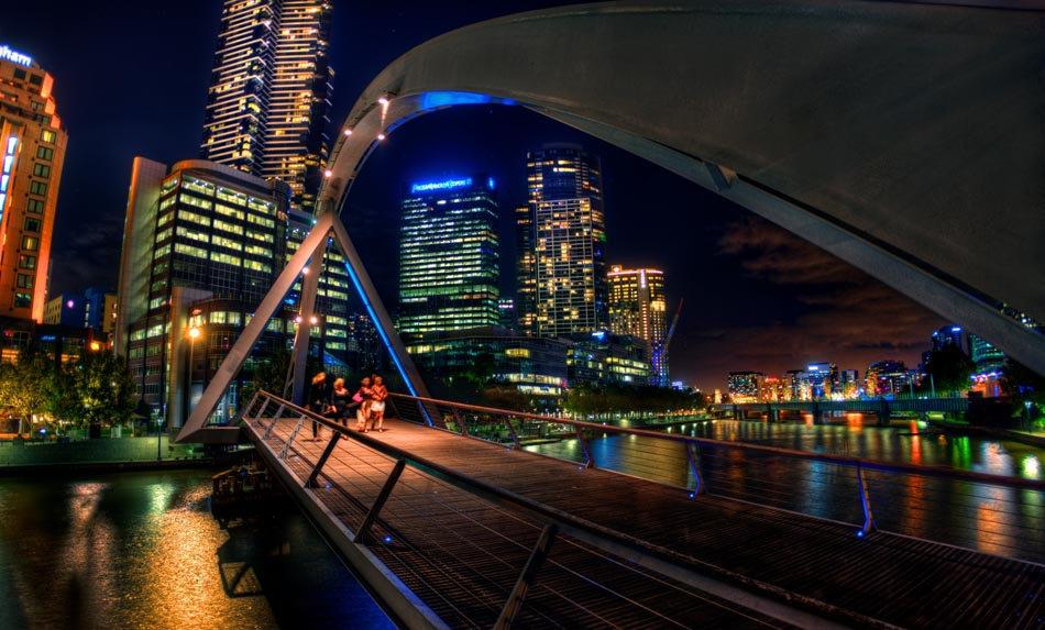 Melbourne in HDR (High Dynamic Range), for The Age iPad App. Pic By Craig Sillitoe CSZ/The Sunday Age 29/5/2011