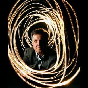 Swirls of Light Using Time Exposure