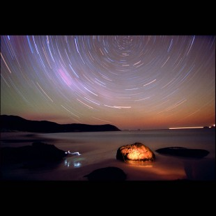 Star Trail Photo at Wilsons Promontory