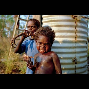 Photojournalist, Documentary Photographer's Remarkable Photo of Aboriginal Kids